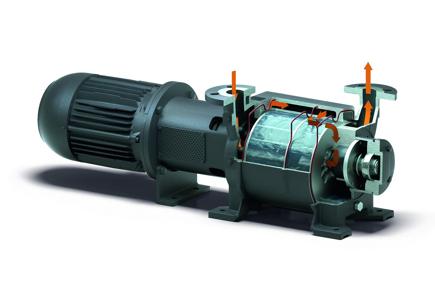 Two-stage-liquid-ring-vacuum-pump-operating-principle-1