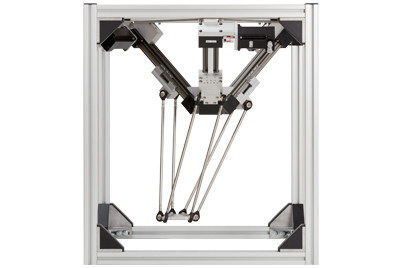 Cost-effective and lightweight modular system for delta robots