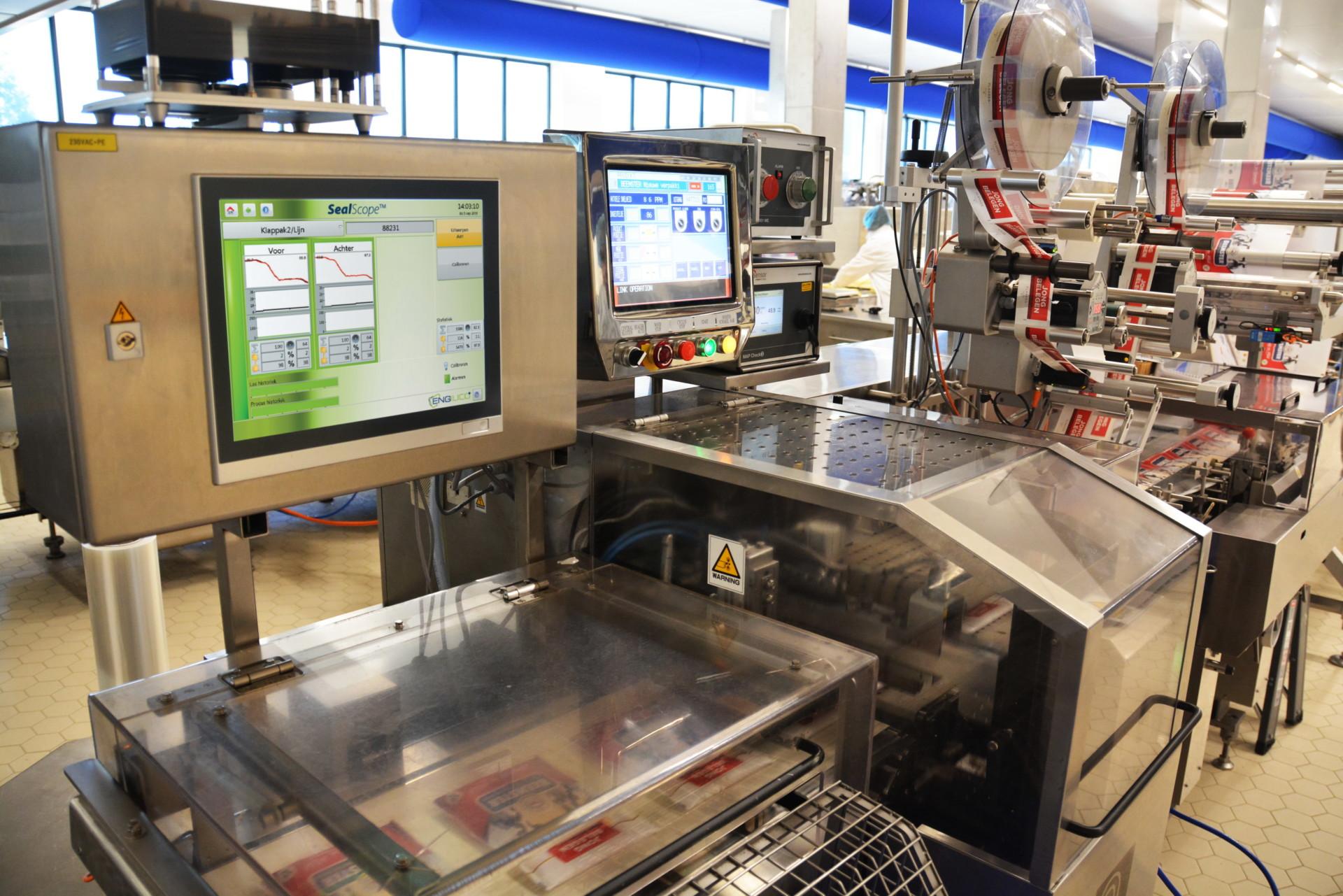 Hazeleger bewaakt de verpakkingskwaliteit met behulp van SealScope™
