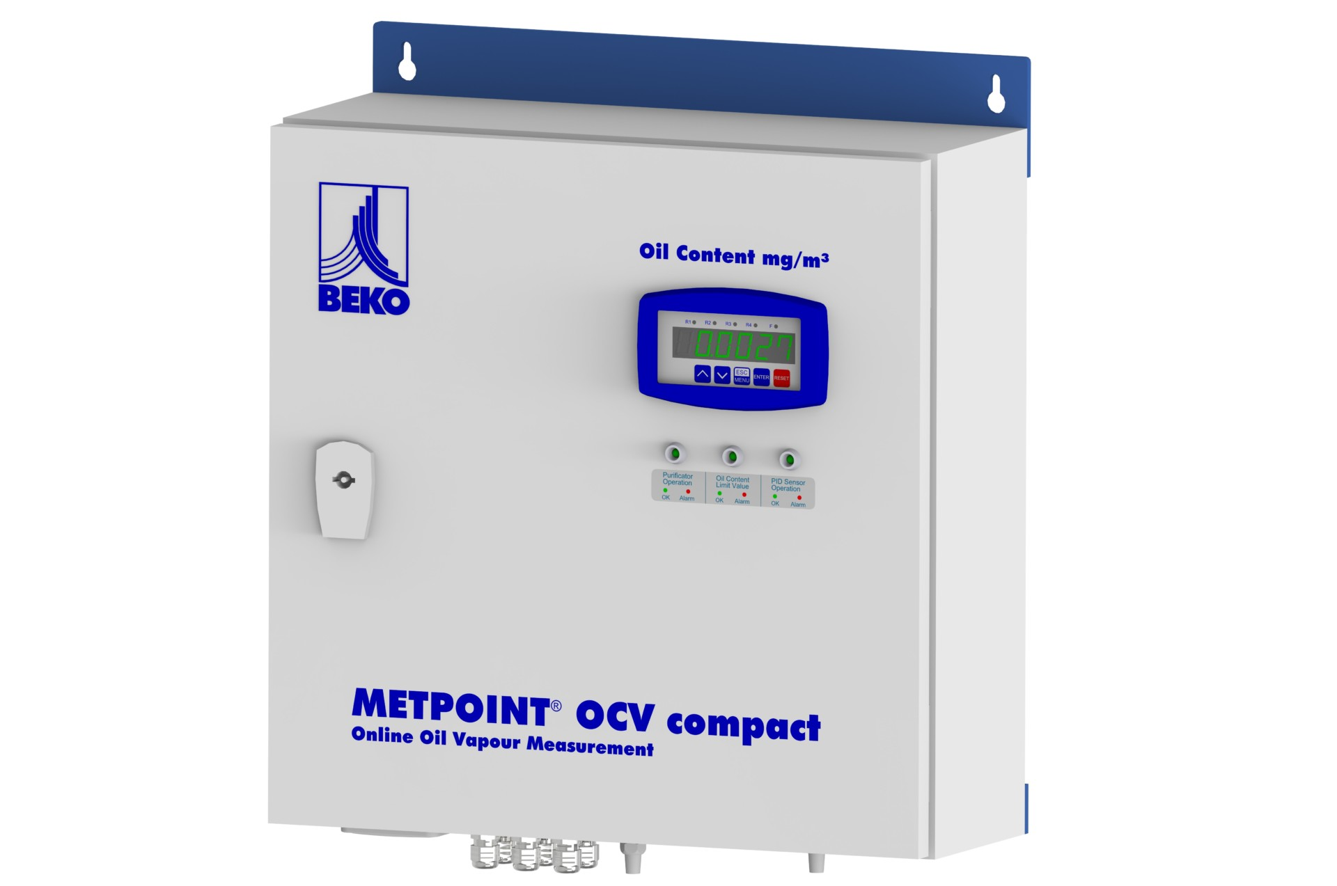 Oil damp residue measurement METPOINT® OCV