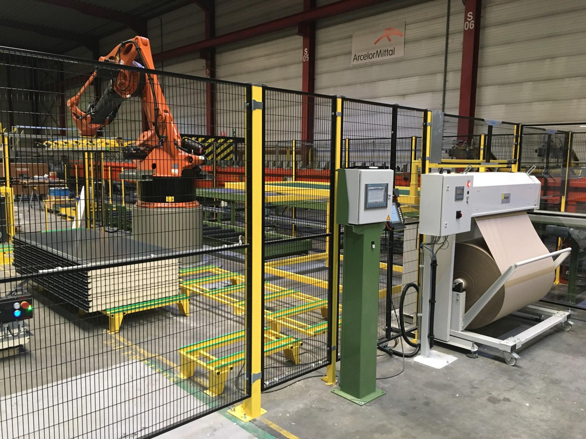 Tallpack verkoopt eerste 'Volautomatische Sheet dispenser' in België en verduurzaamt de keten