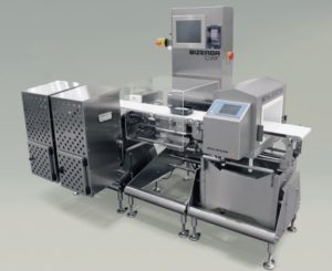 Dynamic checkweigher CWF maxx in combination with metal detector