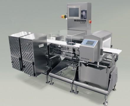 Combiné trieuse pondérale dynamique CWF maxx et détecteur de métaux Varicon