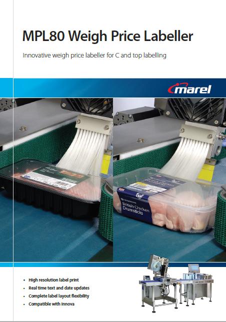 MPL80 Weigh Price Labeller