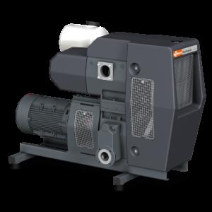 Huckepack – Fresh oil lubricated rotary vane vacuum pump