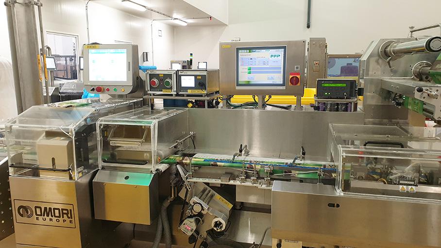 Flanders Food Productions installeert SealScope™ op klappak-verpakkingslijn van sneetjeskaas