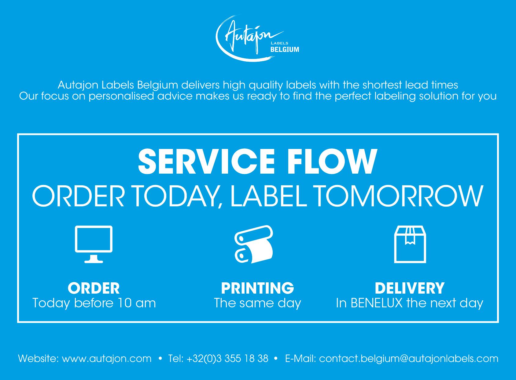 Service Flow Levering binnen de 24h