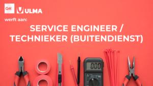 TECHNIEKER / SERVICE ENGINEER (Buitendienst)