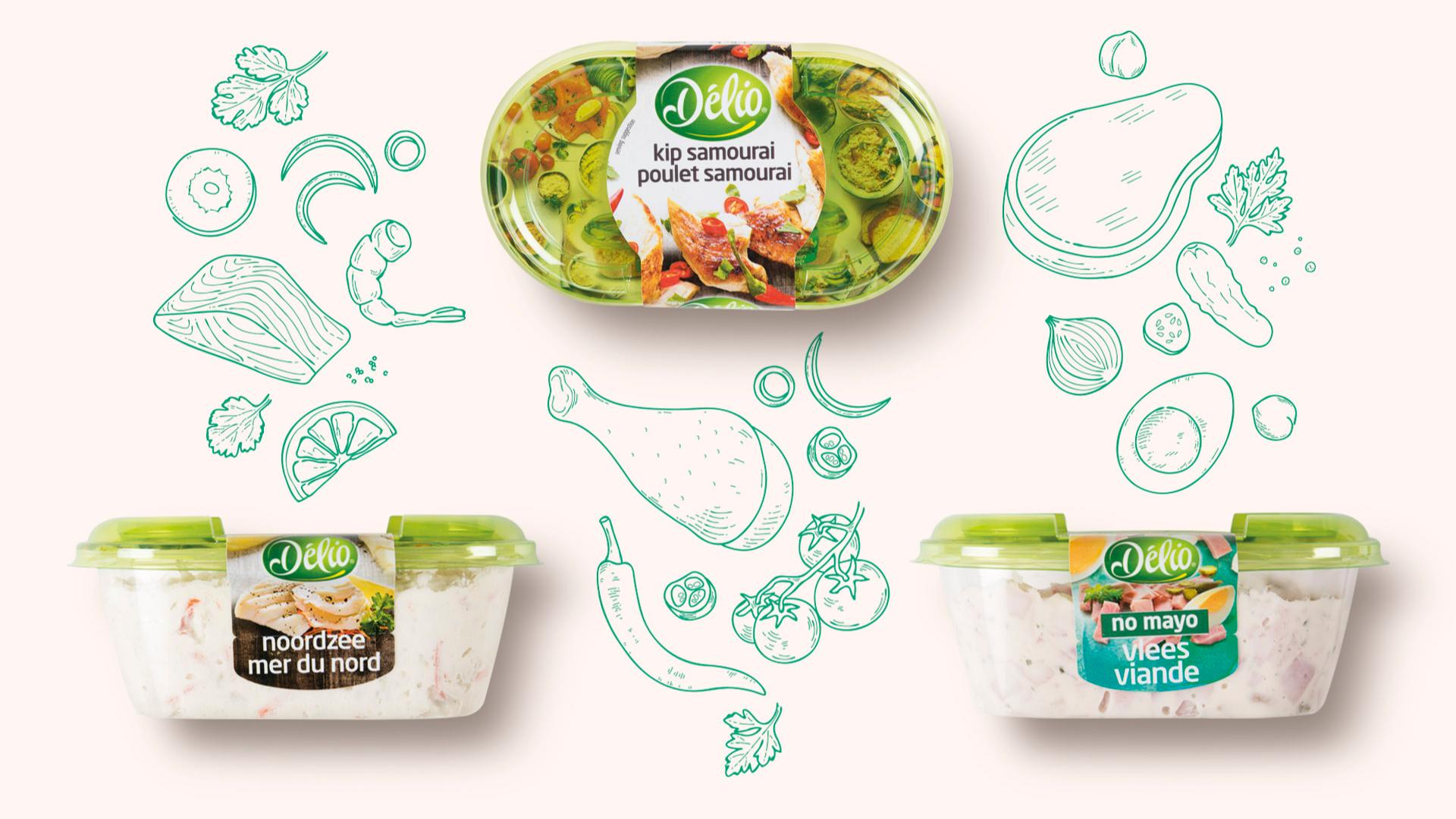 Delio, packaging design door DesignRepublic