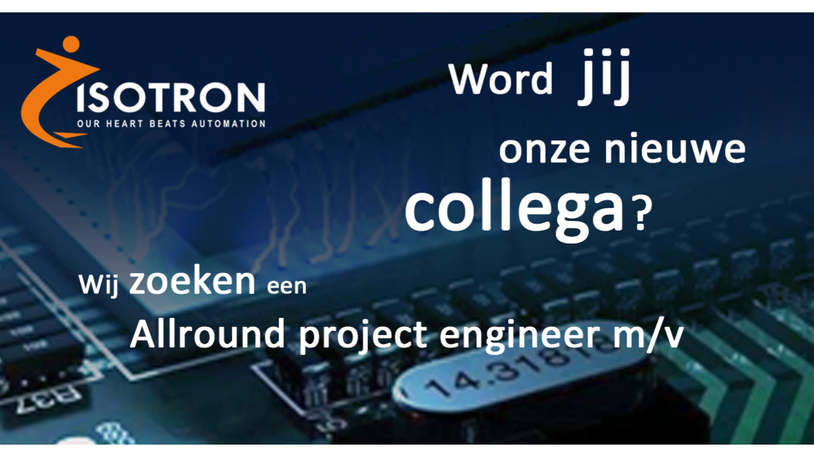 Allround Project Engineer (Machine Vision & Motion Control)
