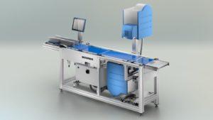 Weigh price labeling system Bizerba GLM-Emaxx