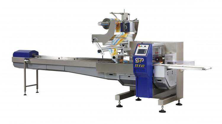 Horizontale flowpack machines van GSP