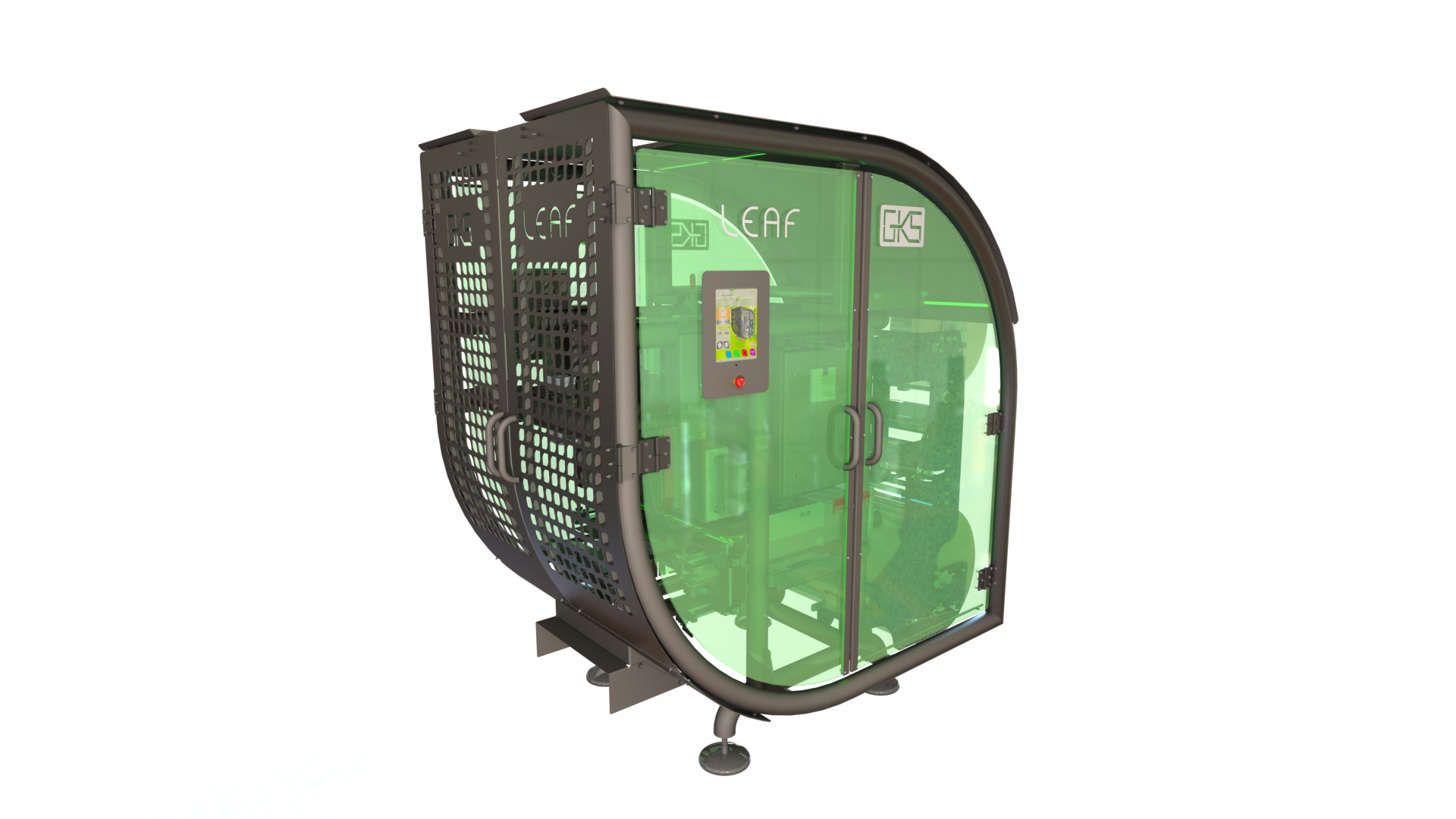 LEAF, een nieuwe machine speciaal voor papieren zakken