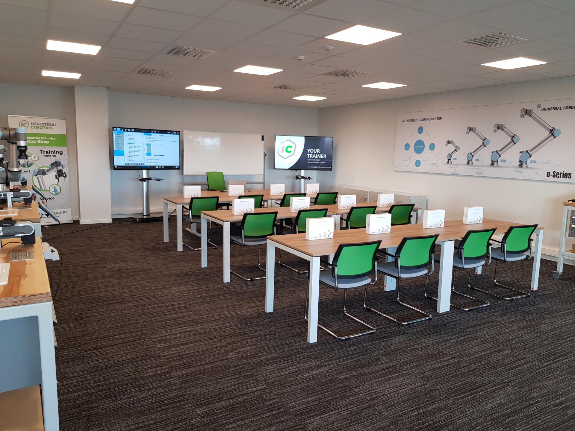 Universal Robots gecertificeerd trainingscenter in Haaltert, Belgie